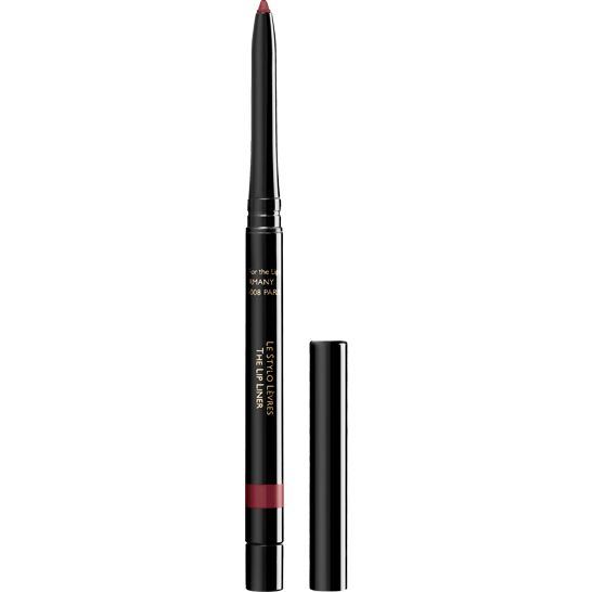 This extremely soft Lip Liner with its incredibly supple and comfortable tip delicately redefines and traces the lip contour to enhance the lips and perfect make-up. It softens or accentuates lipstick and prevents it from feathering. The line is impeccable with a matt, satiny finish. Lipstick hold is improved for a long-lasting effect guaranteed. Retractable and accompanied with a pencil sharpener, the Lip Liner is available in eight shades, designed in perfect harmony with the Guerlain ...
