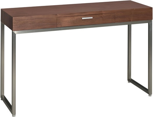 Steel frame console table from Dwell