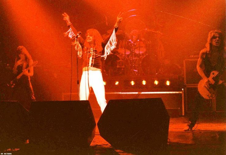 Ozzy's solo band Blizzard Of Ozz and Diary Of A Madman.