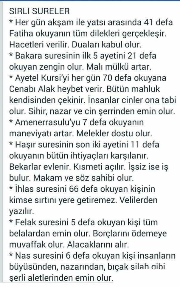 Sirli Sureler ~ Kuaza