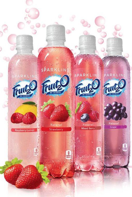 Fruit 2 O sparkling water