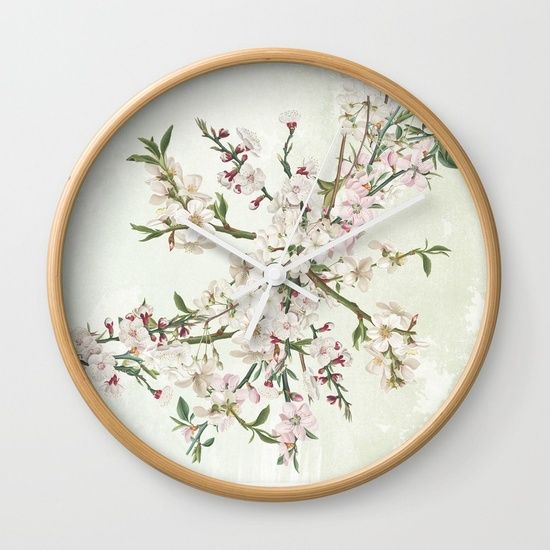 Bloom and blossom Wall Clock  20% Off + Free Worldwide Shipping Today!