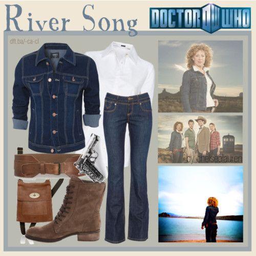 River Song, Nerdy Fashion Blog