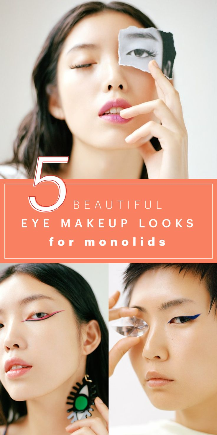 The Best Eye Makeup For Monolids, According to People Who