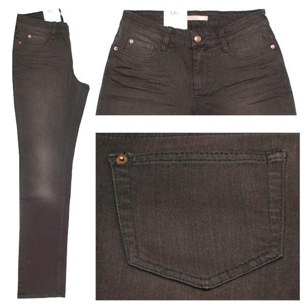 MAC Stretch Damen Jeans / Form: Angela / Farbe: dunkebraun angewaschen - FarbNr.: D795 / im MAC Jeans Online Shop