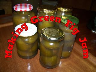 A Pretty Talent Blog: Making Green Fig Jam