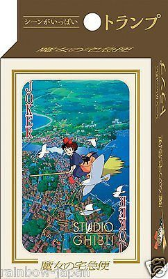 Kiki's Delivery Service Playing Cards Trump Studio Ghibli Toys Japan