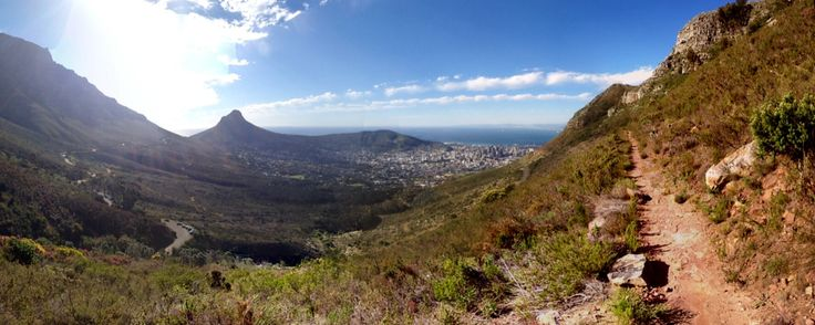 Cape Town: view from Table Mountain