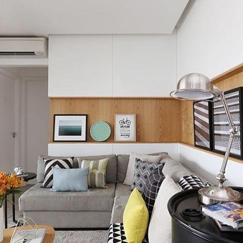 Projeto Beatriz Ottaiano #assimeugosto #salalinda #saladeestar  @mariana_orsi · Living RoomsInterior DesignMarianFamily ... Part 83