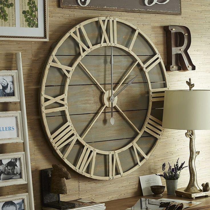Best 25 Rustic Wall Clocks Ideas On Pinterest Oversized