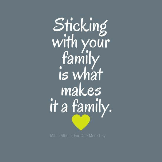 Love For Your Family Quotes: Quotes About Family Sticking Together. QuotesGram