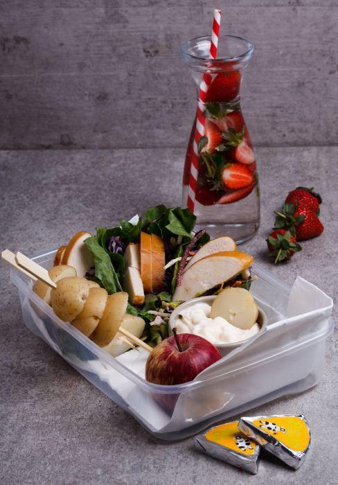 Bread-Free Lunch Box Menu