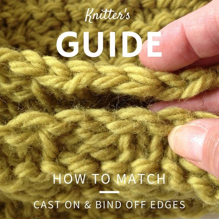 95 Best Bind Offs Knit Images On Pinterest Knitting Patterns
