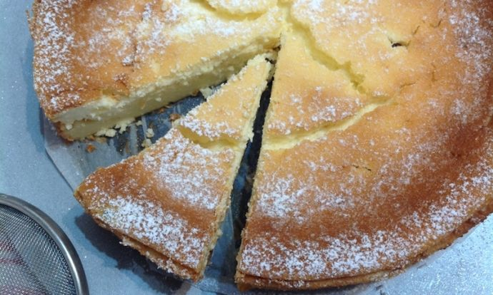 Tvarohový koláč (sernik)