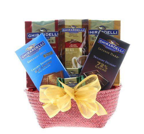 Wine.com The Best of Ghirardelli Gift Basket - http://mygourmetgifts.com/wine-com-the-best-of-ghirardelli-gift-basket/