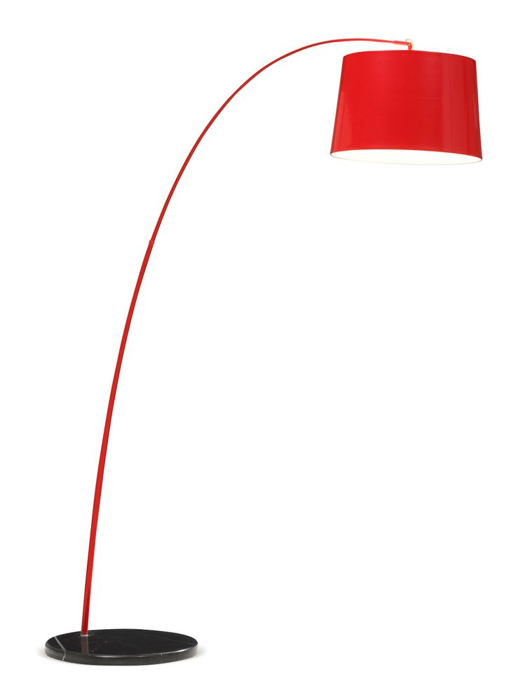 Twisty Red Floor Lamp By Zuo At Gilt Everything Red Love