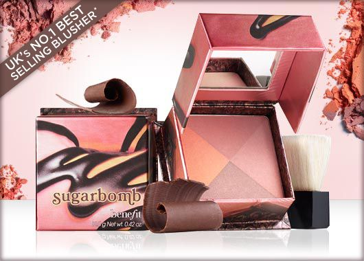 Benefit Cosmetics - sugarbomb #benefitgals