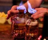 cocktail pictures flaming Dr Pepper - Bing Images