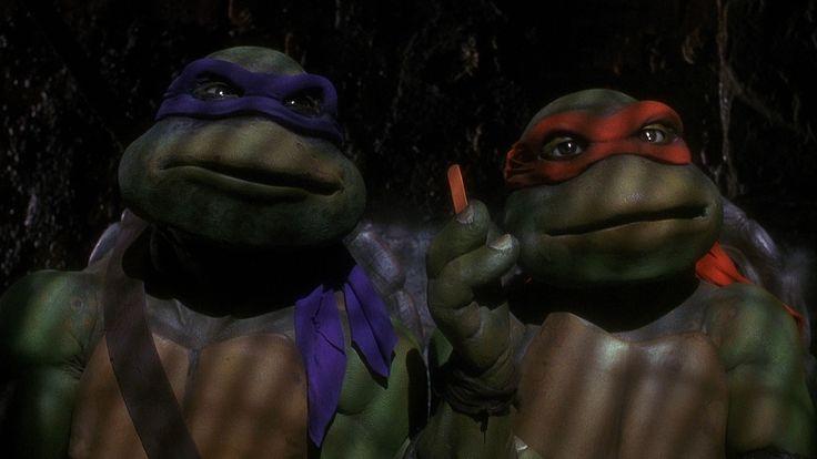 """Teenage Mutant Ninja Turtles  """"Nice night."""""""