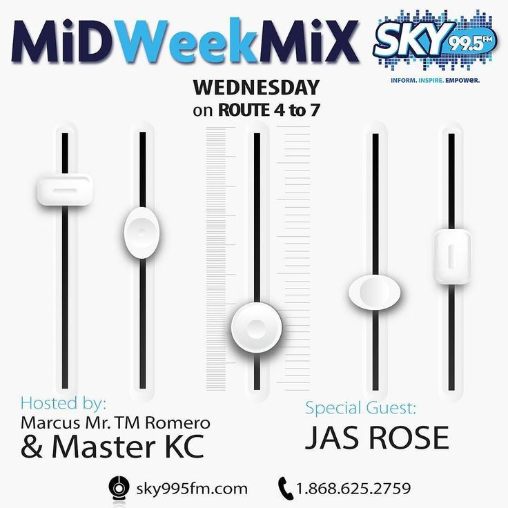 @jasrose_ is our featured guest on #midweekmix #route4to7 @sky995fm  #watch online sky995fm.com
