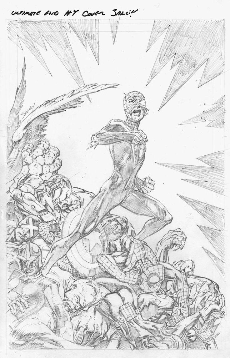 Secret Wars: Ultimate End #4 - Ultimate Spider-Man by Mark Bagley *