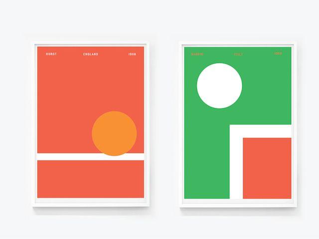 Iconic World Cup Posters – Fubiz Media