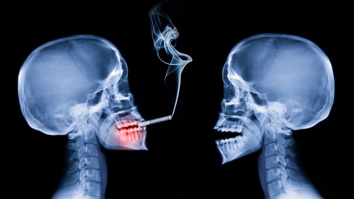 Even if you're not the one smoking, tobacco smoke can damage your blood vessels and make your heart work harder