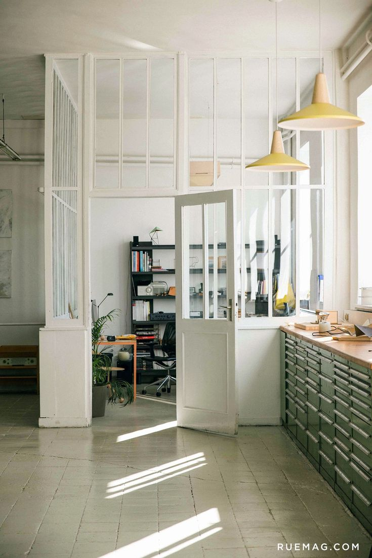 Best Ideas About Glass Walls On Pinterest Glass Partition - Kitchen wall cut out designs