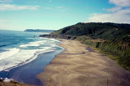 Calfuco Beach, Valdivia, Chile