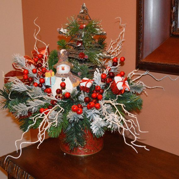 Best images about xmas centerpieces on pinterest