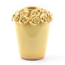 Love the flowers around topKirkland Vases, Flower Vasesku, Primitives Decor, Vases 1699, Mixed Art, Breakfast Tables, Butter Flower, Vases Shape, Decor Inside