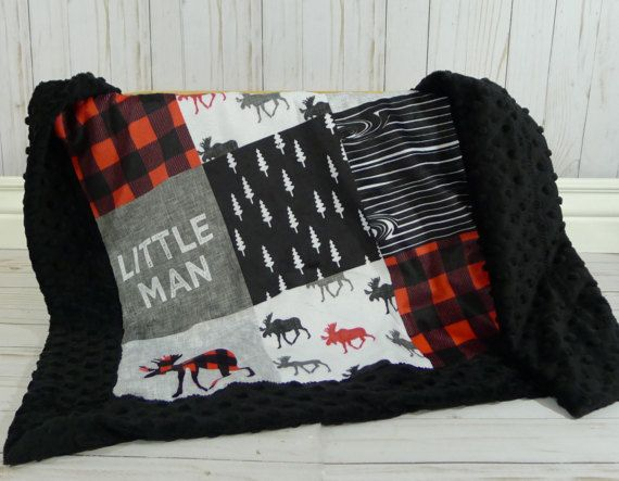 This Buffalo Plaid Minky Baby blanket is the cutest buffalo plaid blanket faux quilt for a baby, toddler, or child little man blanket. So soft for your baby lumberjack, and great as a baby shower gift. This Bufflo Check Baby Blanket Faux quilt means that its not actual patchwork. Its one big piece. Ships from my smoke free clean home studio. Sizes are approximate and made to order. Usually takes about 2 weeks. Blanket is minky on both sides. ●▬▬▬▬▬▬▬♥ Size and Fabric Options♥▬▬▬▬▬▬▬●  Lovey…