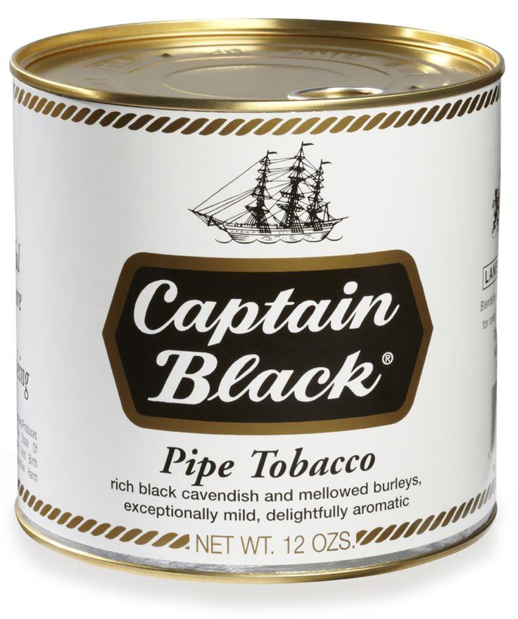 Captain Black Pipe Tobacco Regular White - 12 oz. Can