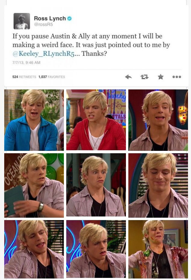 Dude your hot all the way! Lol but that middle one..sorry Ross. Your too adorable!!!