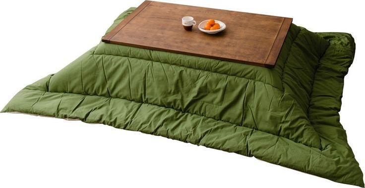 Amazon.co.jp: エムール こたつ掛け布団「つむぎ」 長方形/楕円形 約205×245cm 日本製 グリーン: ホーム&キッチン