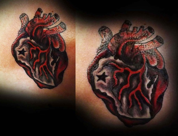 """""""I heart Wisconsin!"""" tattooed by Michelle Nordeen at Crimson Heart Designs, Clear Lake, WI"""