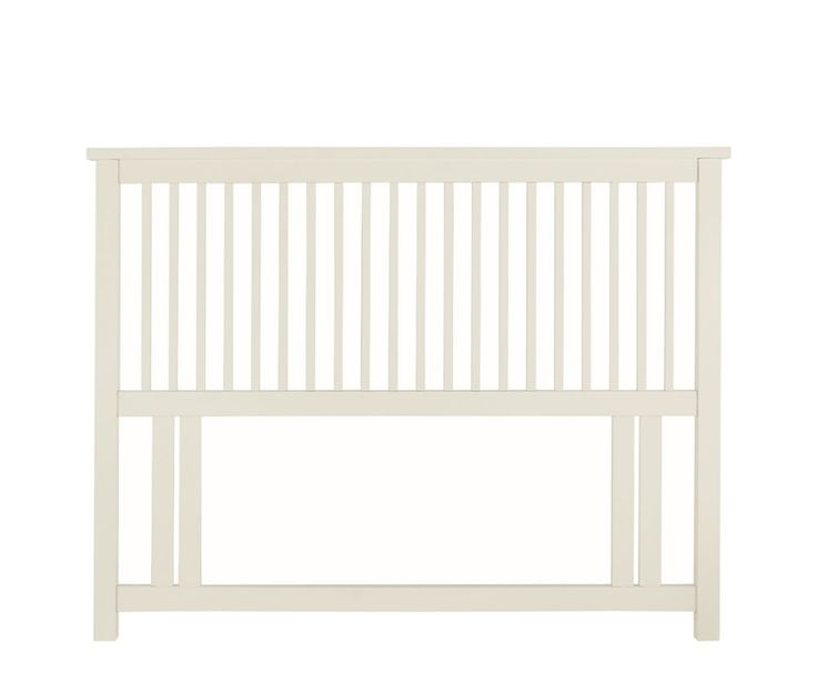 Just.headboards I Atlanta White Wooden Headboard I Double £125.40