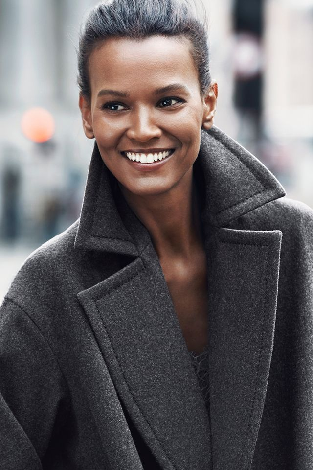H&M Fall Fashion with Liya Kebede. #HMFallFashion