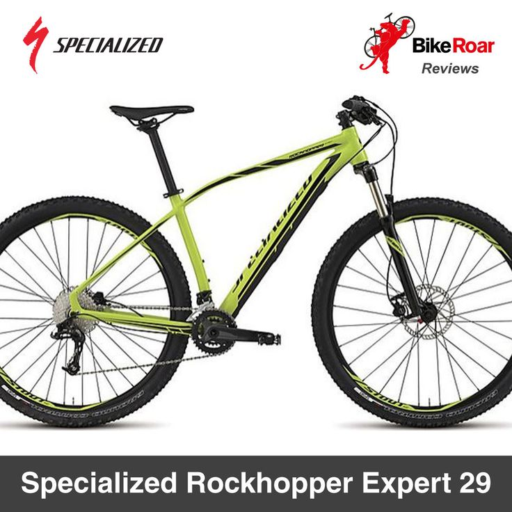 REVIEW: Specialized Rockhopper Expert 29.  A great bike for a taller intermediate rider who's looking for a decent hardtail for both urban riding and trail duty...  LEARN MORE: http://www.bikeroar.com/products/specialized/rockhopper-expert-29-2015.  #specialized #rockhopper #sport #bike #mtb #mountainbike #hardtail #iamspecialized