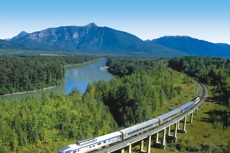 Enjoy the spectacular views of Jasper National park, beautiful Pacific Coast and much more on 2 day daylight-cruise with VIA Rail.