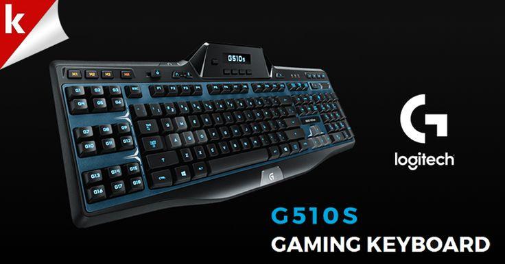 LOGITECH G510S Gaming Keyboard. Apapun yang kamu butuhkan untuk gaming dalam sebuah full control keyboard.  Beli disini http://j.mp/22TwwTW