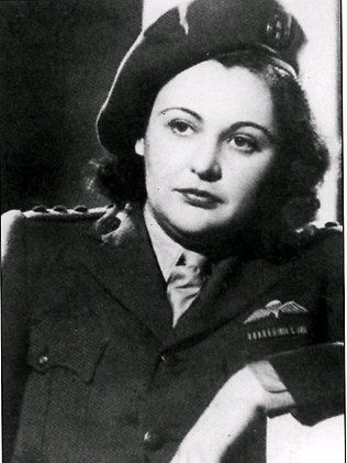 Nancy Wake. Australian journalist who joined the french resistance during World War II. Code name: White mouse