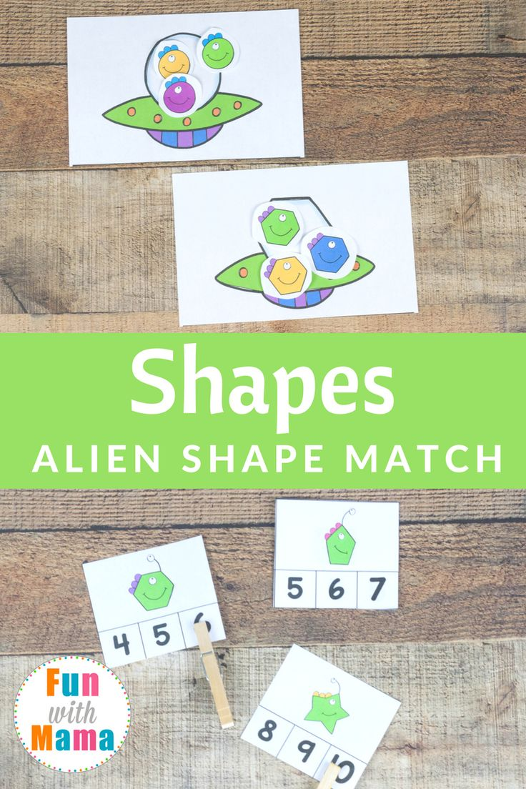 170 best Shapes images on Pinterest | Early years maths, Preschool ...