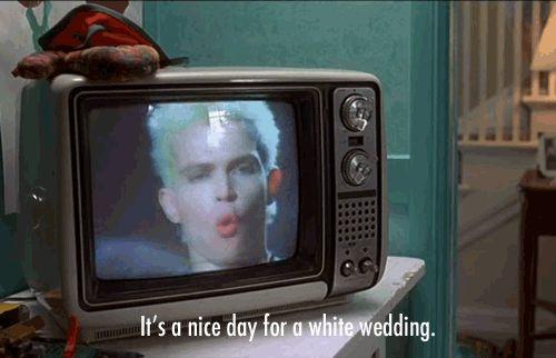"Billy Idol, ""White Wedding"""