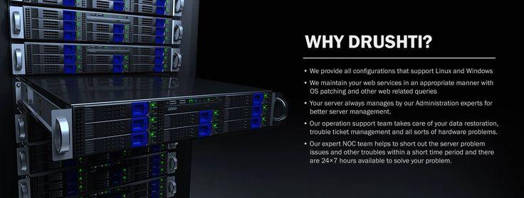 Drushti Technet LLP - Server #Management #Service http://www.dinpl.com