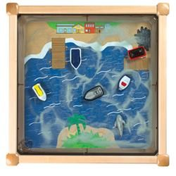 Gressco Ocean Theme Colored Magnetic Sand Tables