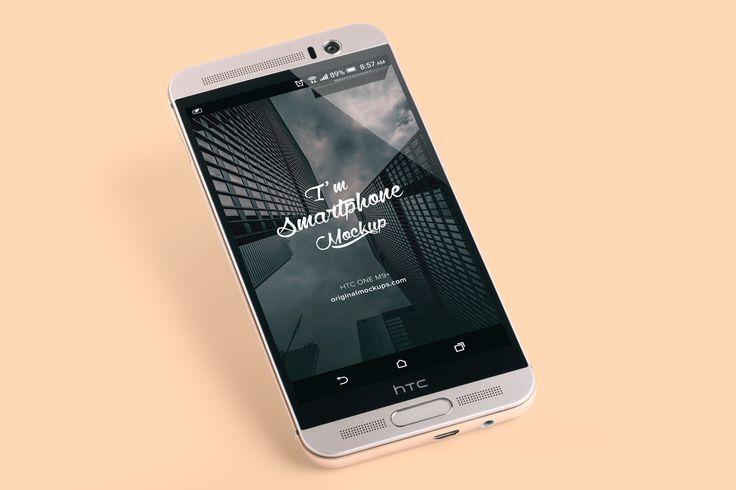 HTC One M9+ PSD Mockup 01 by Original Mockups on @originalmockups