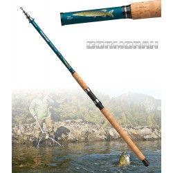 Cormoran Topfish Tele 80 Brochet, 3.30m, 40-80g, 6 elements, Canne télescopique brochet
