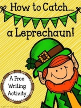 Cute and FREE writing worksheets on how to catch a leprechaun. This would be a great build-up to making our leprechaun traps on St. Patrick's Day!