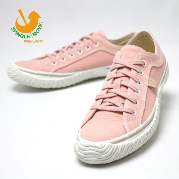 benbe | Rakuten Global Market: SPINGLE MOVE (spingarmove) processing canvas sneakers low cut shoes shoes made in Japan casual mens Womens SPM-141 Light Pink (14)